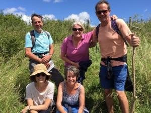 Exford walking group
