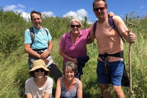Exford walking group