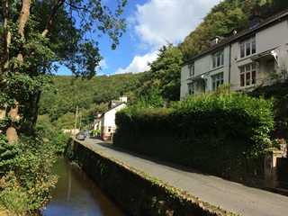 Exmoor holiday cottage Buchan