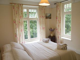Exmoor holiday cottage bedroom