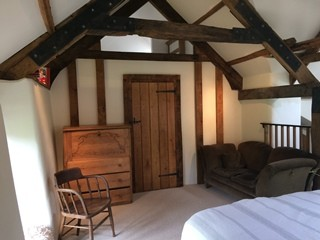 Exmoor holiday cottage bedroom Spindrift