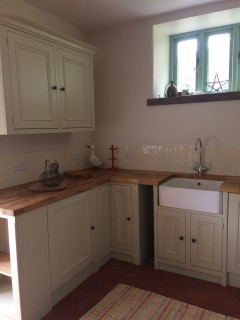 Exmoor holiday cottage kitchen
