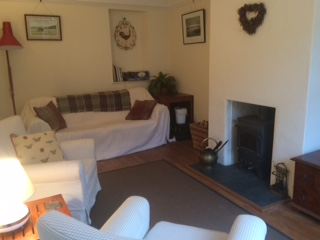 Buchan cottage sitting room
