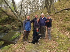 Exmoor guided walks Lorna Doone walk