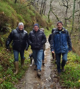 Exmoor guided walks New Year at Watersmeet