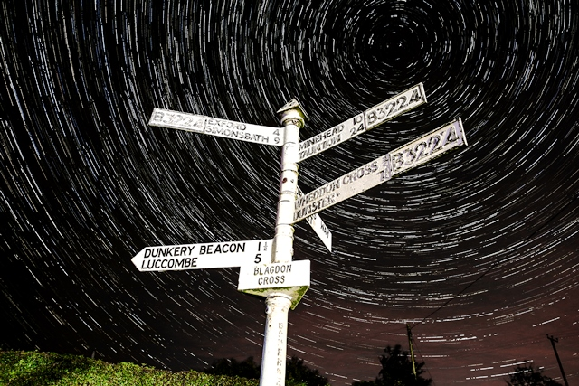 stargazing from Exford