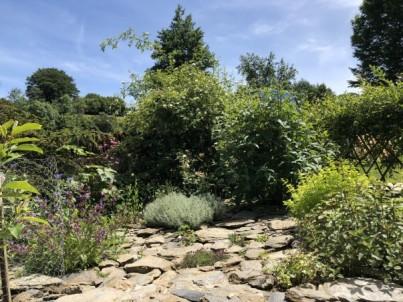 Spindrift herb garden