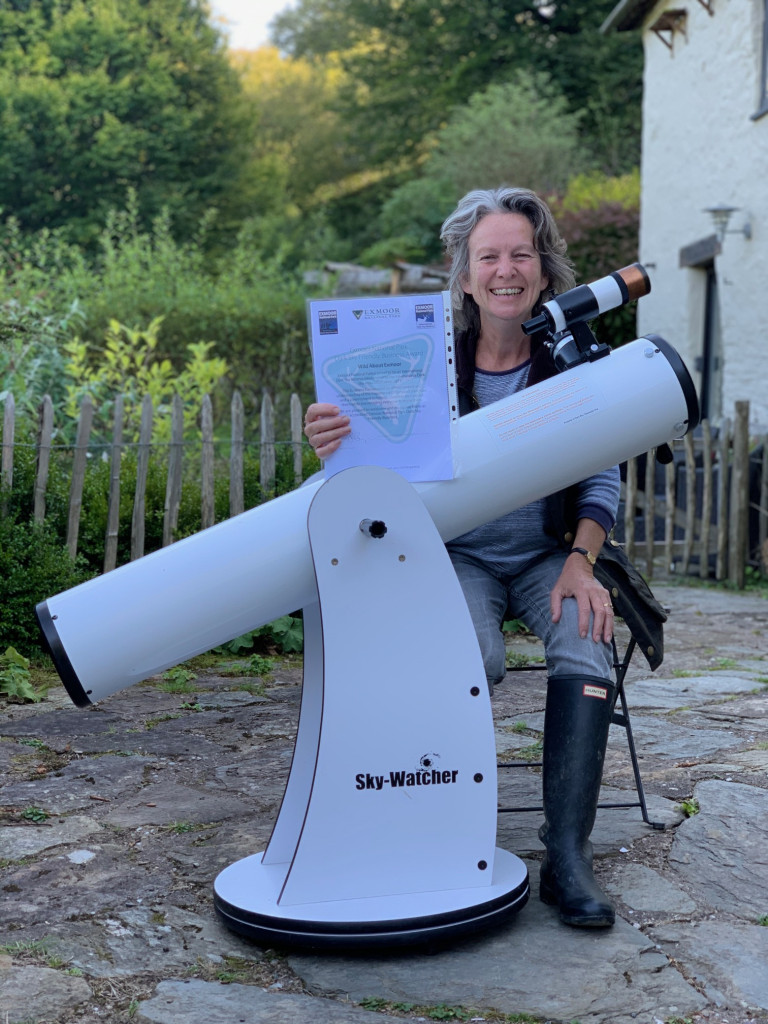 use our telescope for stargazing