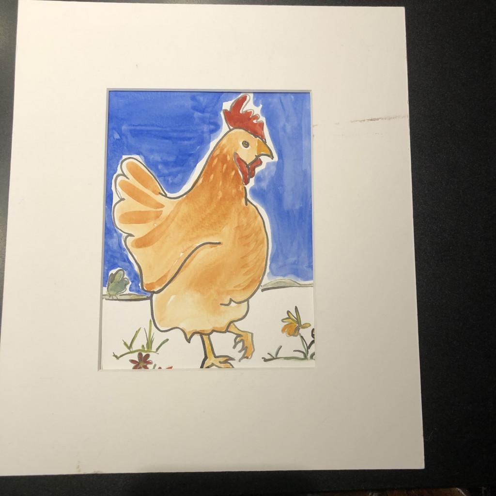 Liz's hen